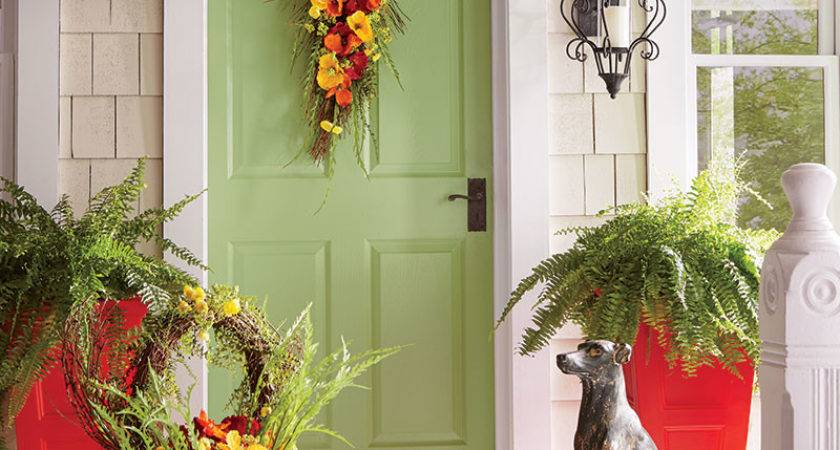Warm Welcoming Front Porch Decorating Ideas