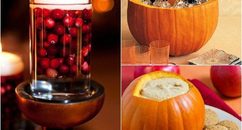 Ways Decorate Your Pretty Thanksgiving Table