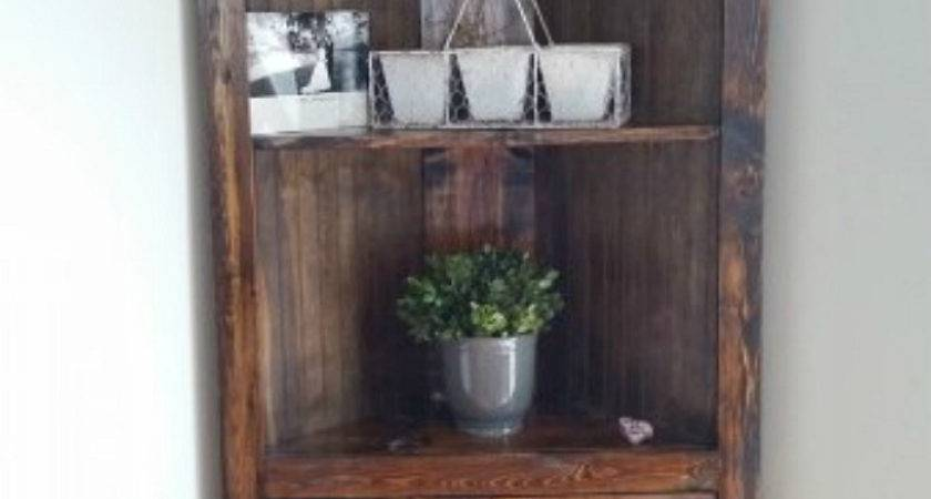 Ways Diy Creative Corner Shelves