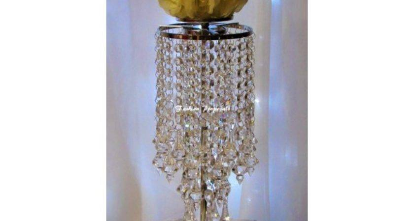 Wedding Candle Holder Centerpieces Crystal