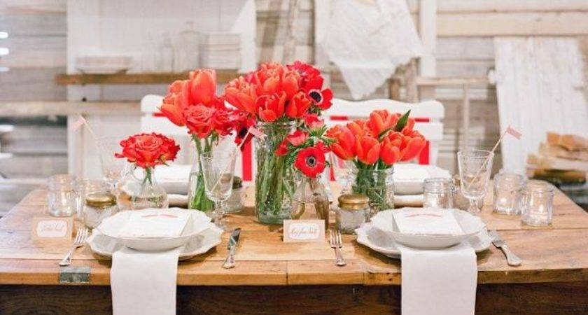 Wedding Color Trends Pantone Fiesta Red