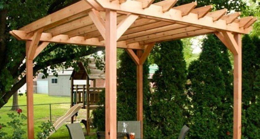 Weekend Diy Pergola Project Che Said