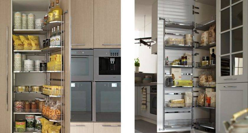 Well Organized Kitchen Pantry Cabinet Ideas Trends