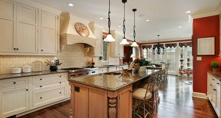 Well Planned Large Galley Kitchen Island Because Lentine