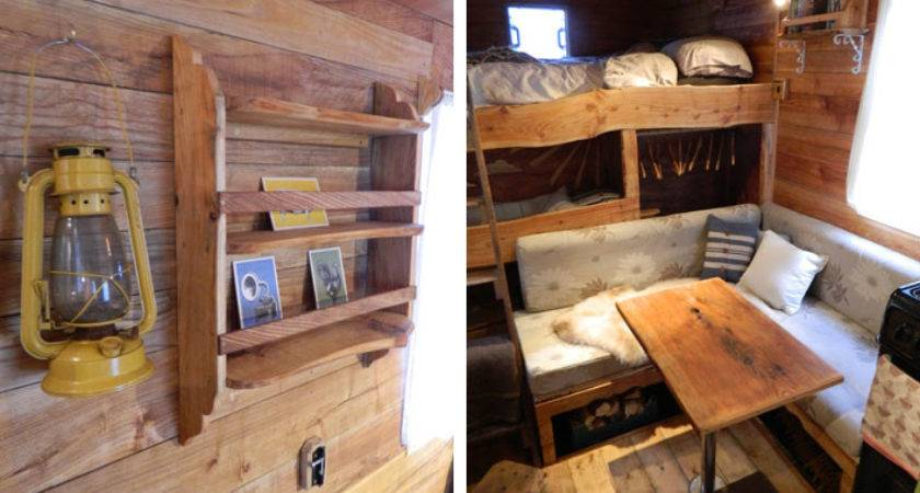 Welsh Couple Transforms Old Vans Into Rustic Campers