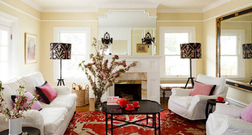 West Hills Victorian Traditional Living Room