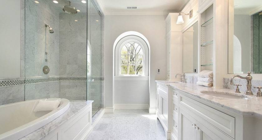 White Bathroom Ideas Design Designing Idea