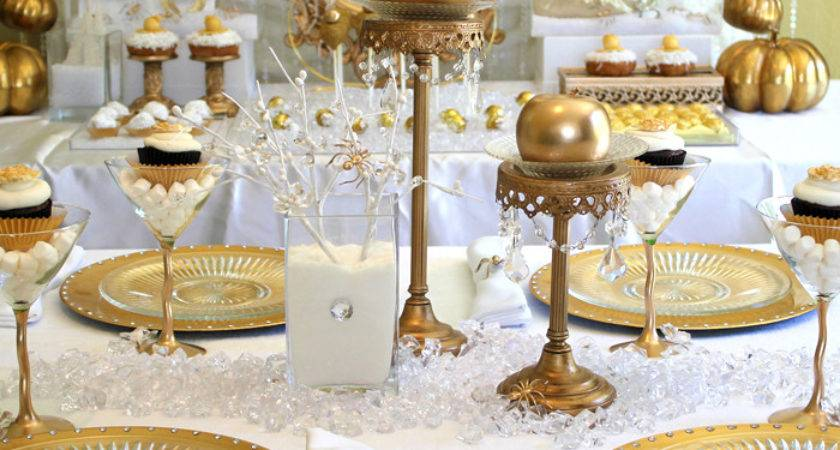 White Gold Decorations