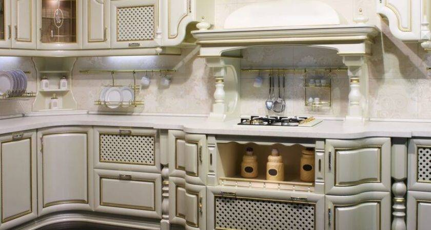 White Gold Kitchen Ideas