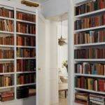 White Home Library Built Bookcases Photos Diy