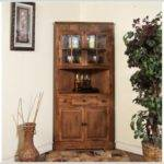 White Kitchen Corner Cabinet Hutch Home