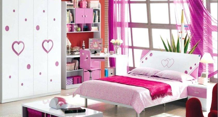 White Pink Bedroom Furniture Nurani