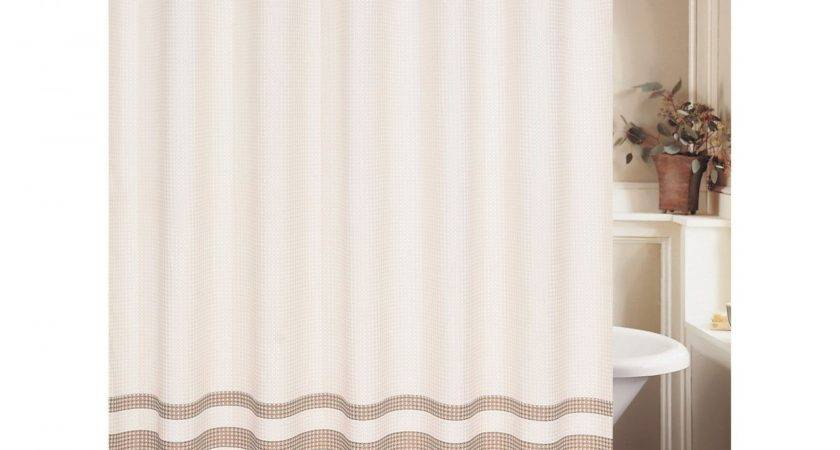 White Ruffle Shower Curtain Outfitters Ombre