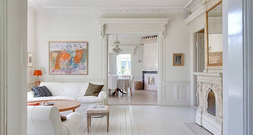 White Villa Sweden Interior Design Files