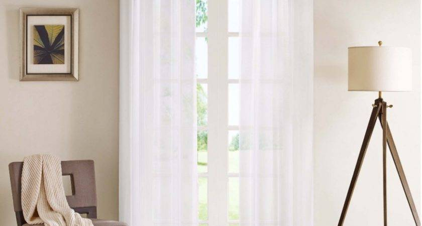 White Window Curtains Living Room Carameloffers