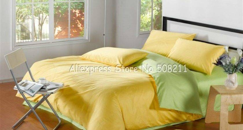 Wholesale Solid Pattern Satin Yellow Apple Green Color