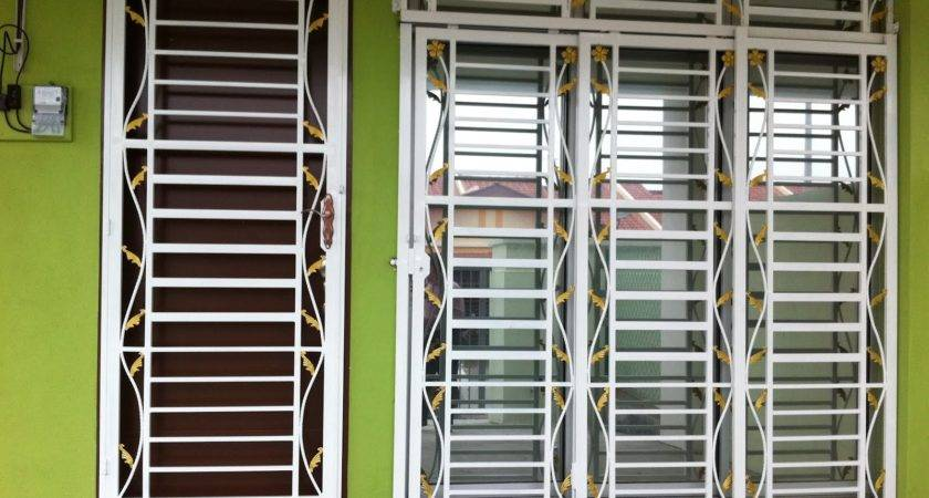 Window Grill Designs Homes Grills Design Wood Ideas