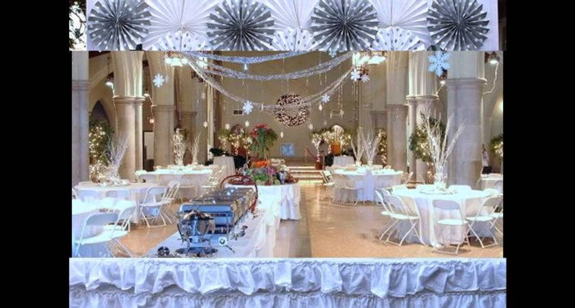 Winter Themed Party Decorations Homemade Design