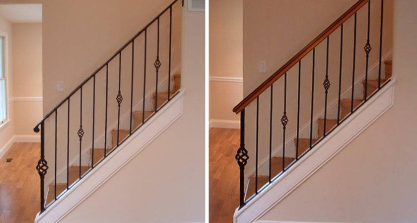 Wood Handrails Stairs Design Your House Its