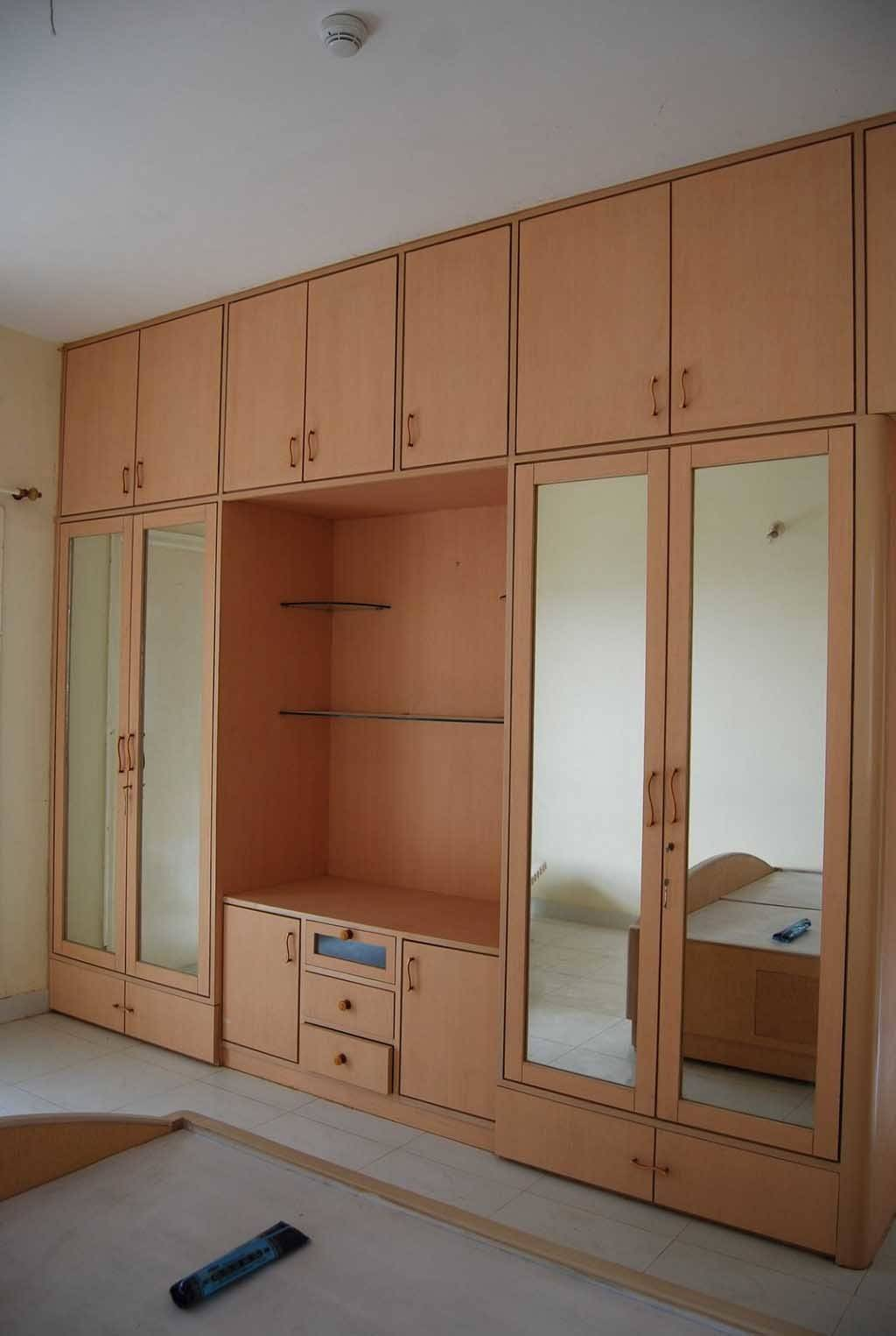 Wooden Bedroom Cupboard Designs Modern Style Homes Decor