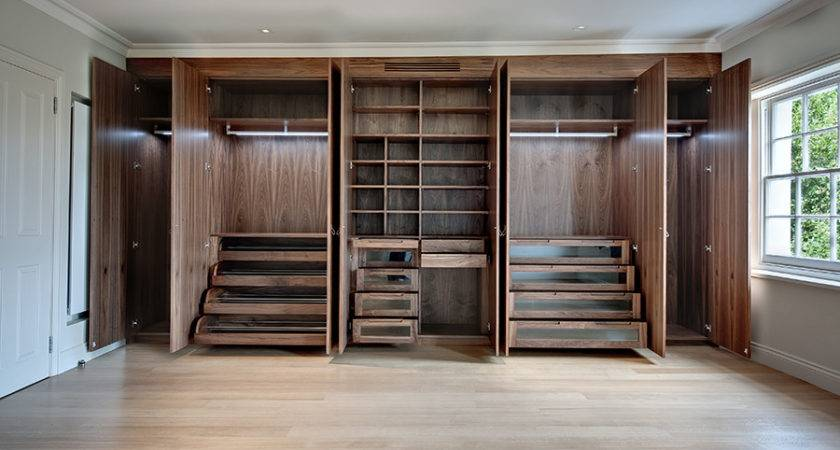 Wooden Built Wardrobe Design Plushemisphere