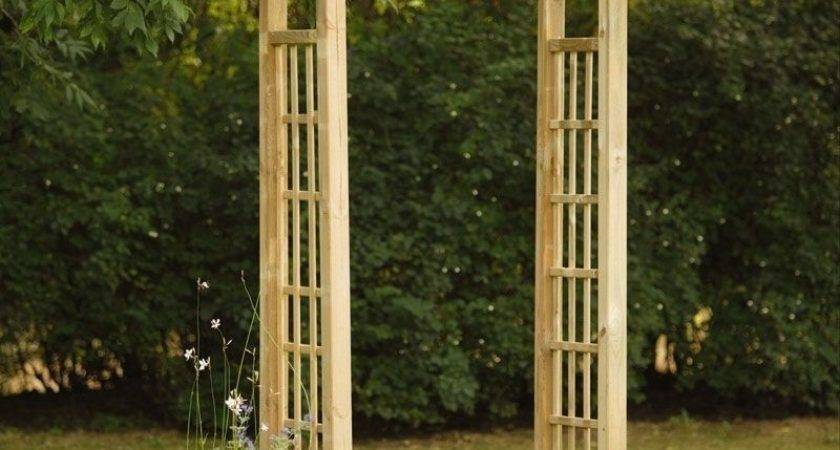 Wooden Garden Arch Pressure Treated Outdoor Timber Pergola