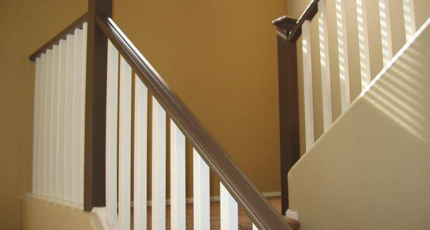 Wooden Stair Banisters Railings Decor References