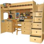 Woodwork Bunk Bed Plans Desk Pdf