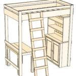 Woodworking Plans Loft Bed Desk Quick