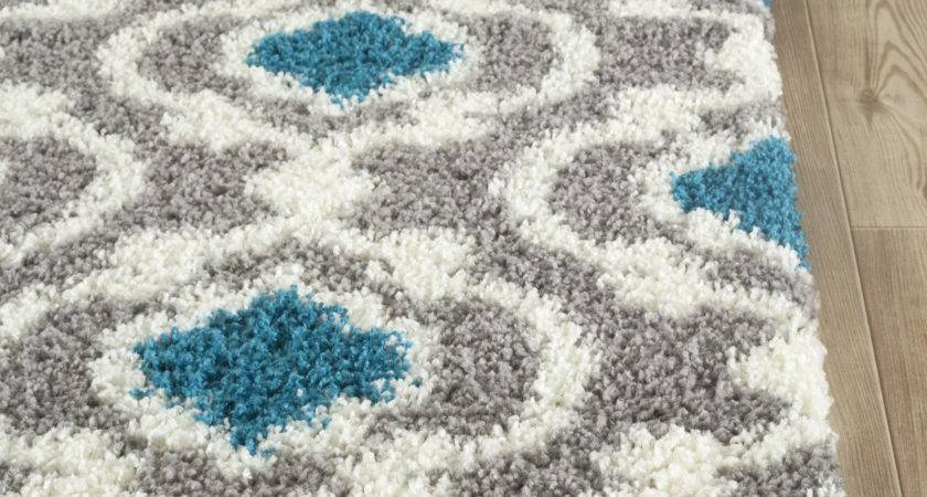 World Rug Florida Gray Turquoise Area