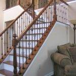 Wrought Iron Handrails Stairs Modern Style Home