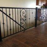 Wrought Iron Interior Railing Louisville