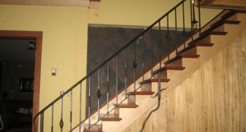 Wrought Iron Railings Interior Stairs More Decor