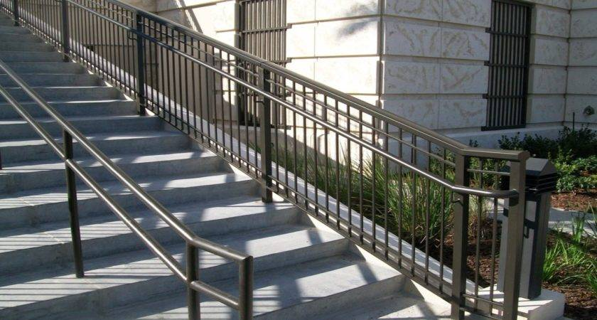 Wrought Iron Railings Outdoor Steps Sleeper Ornamental