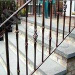 Wrought Iron Stair Railing Exterior Outdoor