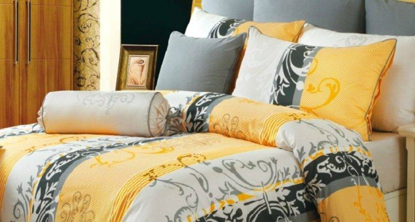 Yellow Brown Bedding Sets