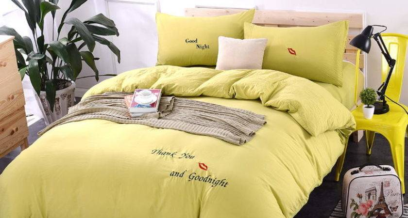 Yellow Comforter Cover Promotion Shop Promotional
