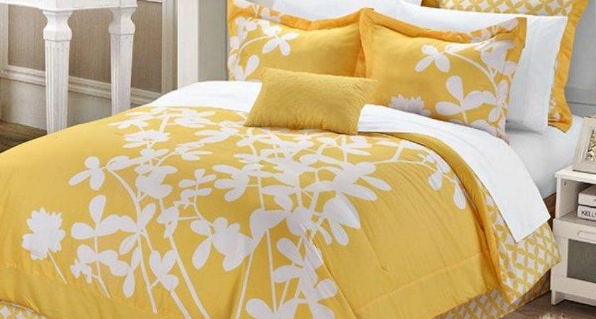 Yellow Duvet Sets Happy Gaiety Bedroom Home
