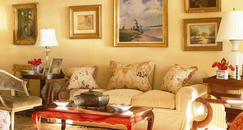 Yellow Gold Walls Paint Colors Light