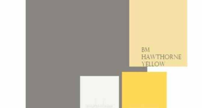 Yellow Gray Exterior Light House Paint