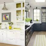 Yellow Gray Kitchen Decor Home Design