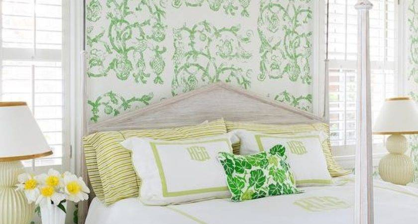 Yellow Green Bedroom Studio Printworks Syrie