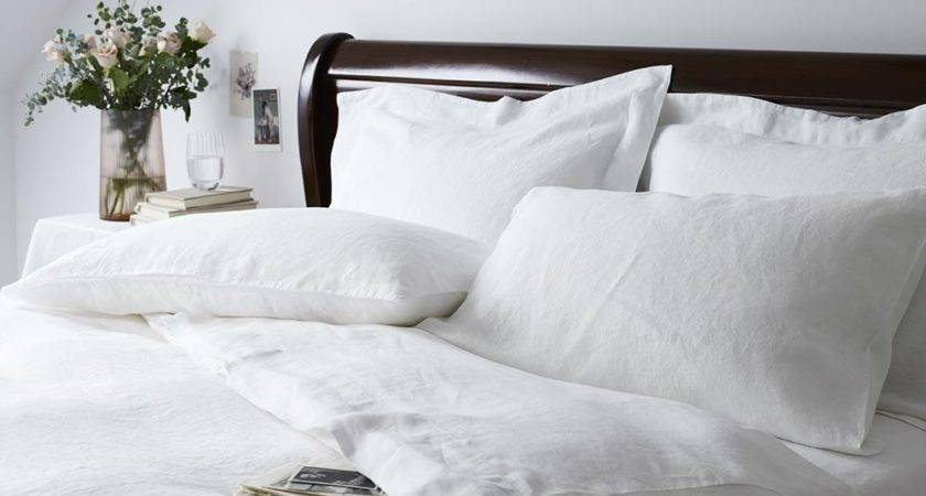 Zela Pure White Bed Linen Luxury Bedding Lizard Orchid